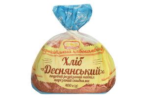 Хліб половинка в нарізці Деснянський Формула смаку м/у 400г