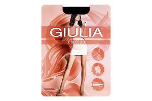 Колготки жіночі Giulia Like 20den 3-M nero