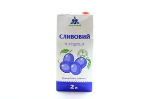 Нектар сливовый с мякотью Береговский т/п 2л