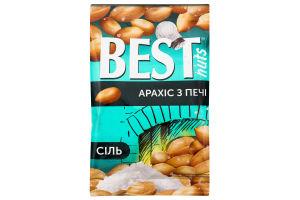Ядра арахісу смажені солоні Best nuts м/у 80г