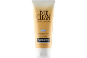 Neutrogena Deep Clean Oil-Free Cream Cleanser