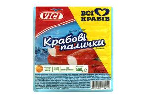 Крабовые палочки замороженные Vici в/у 500г
