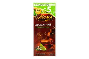 Чай черный Ароматный Бергам Лисма 20х1.5