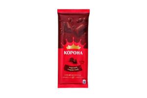 Шоколад черный пористый Корона 90г