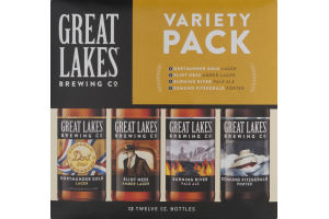 Great Lakes Brewing Co. Variety Pack - 12 PK