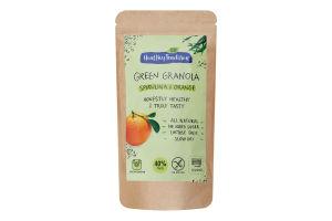 Сніданок сухий Cпіруліна-апельсин Green granola Healthy Tradition д/п 160г