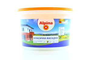 ФАРБА ALPINA КЛАСИЧНА ФАСАДНА В1 2,5 Л