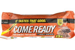 Come Ready Performance Protein Bar Caramel Pretzel Crunch