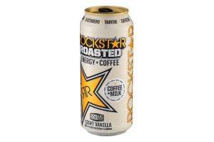 Rockstar Roasted Energy Coffee Light Vanilla Rockstar818094002516