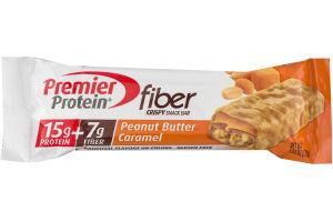 Premier Protein Peanut Butter Caramel Fiber Snack Bar