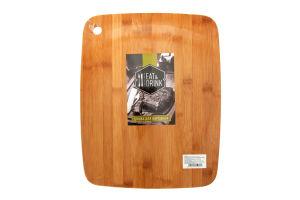 Доска разделочная Eat&Drink бамбук 38*29см