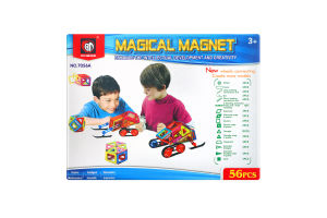 Конструктор для детей от 3лет №7056А Magical magnet Xinbida 1шт