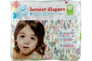 The Honest Co. Honest Diapers Jungle Friends Size 5 - 25 CT