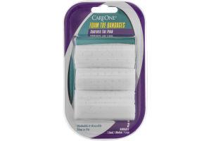 CareOne Foam Toe Bandages - 3 CT