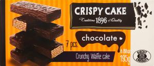 Торт вафельний шоколадний Crispy Cake Biscuit Chocolate к/у 195г