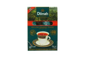 Чай черный крупнолистовой Dilmah к/у 50г