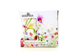 Набір Kera Mia д/чаю Польові квіти 3пр К24-198-076