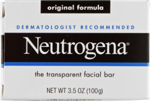 Neutrogena Facial Bar Transparent Original Formula