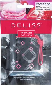 Саше ароматическое для автомобиля подвесное Romance Deliss 1шт