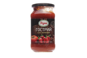 Соус Острый фирменный Руна с/б 485г