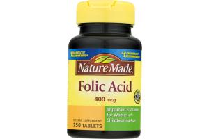 Nature Made Folic Acid - 250 CT