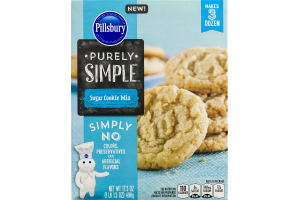 Pillsbury Purely Simple Sugar Cookie Mix