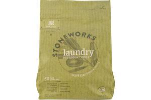 Grab Green Stoneworks Laundry Detergent Pods Olive Leaf - 50 CT