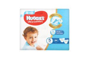 Подгузники для мальчиков детские гигиенические 12-22кг Ultra Comfort Huggies 84шт