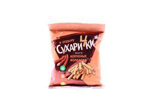 Сухарики со вкусом копченых колбасок Сухарички м/у 50г