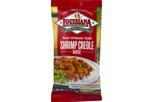 Louisiana New Orleans Style Shrimp Creole Base