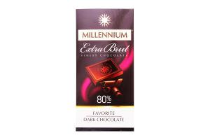 Шоколад Millennium Favorite Extra Brut 80% чорний 100г