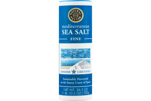 Natural Nectar Mediterranean Sea Salt Fine