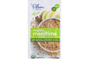 Plum Organics Mighty Mealtime Organic Oatmeal + Ancient Grains Apple Cinnamon