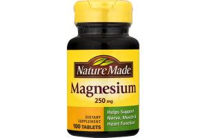 Nature Made Magnesium - 100 CT