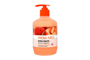 Крем-мыло жидкое Peach&Magnolia Fresh Juice 460мл
