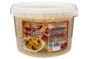 Рис круглий World`s rice Парбоілд 2кг