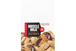 Muscle Milk Protein Bar Chocolate Peanut Butter - 12 CT