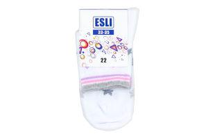 Носки детские ESLI 14С14 белый р.22 275