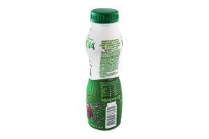 Бифидойогурт 1.5% Вишня-Чиа Активіа п/бут 290г