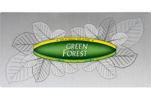 Green Forest White Unscented Facial Tissue
