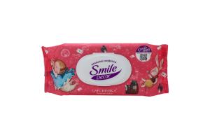 Серветки Smile Decor вологі 60шт х6