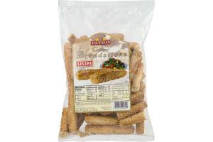 Toufayan Crispy Breadsticks Sesame