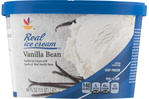 Ahold Real Ice Cream Vanilla Bean