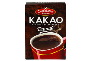 Какао порошок Millennium Chocolatier темний 80 гр