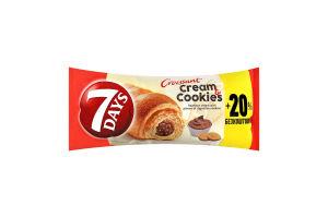 Круасан с ореховым кремом с кусочками печенья 7 Days м/у 110г