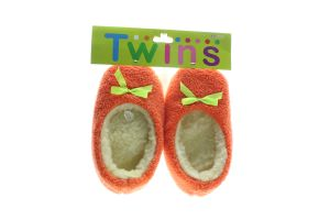 Тапочки-чешки комнатные детские флисовые Twins 32-33