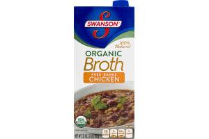 Swanson Organic Free-Range Chicken Broth