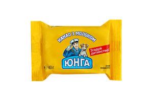 Какао з молоком Юнга м/у 40г