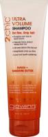 Шампунь для волосся з мандарином та маслом папайї Ultrа Volume Giovanni 2chic 250мл