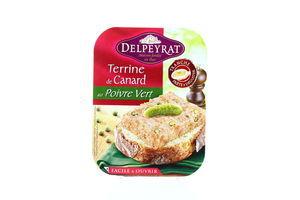 Паштет из свинины и утки с зеленым перцем Delpeyrat п/у 160г